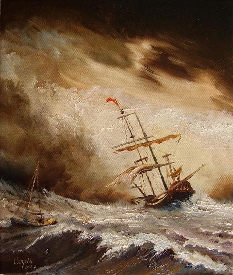 ostatní-Boure na mori