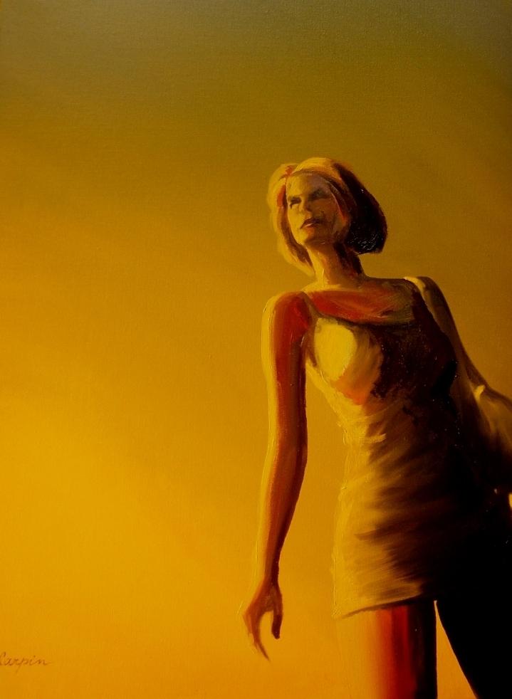 akt a figurální malba-V žáru slunce
