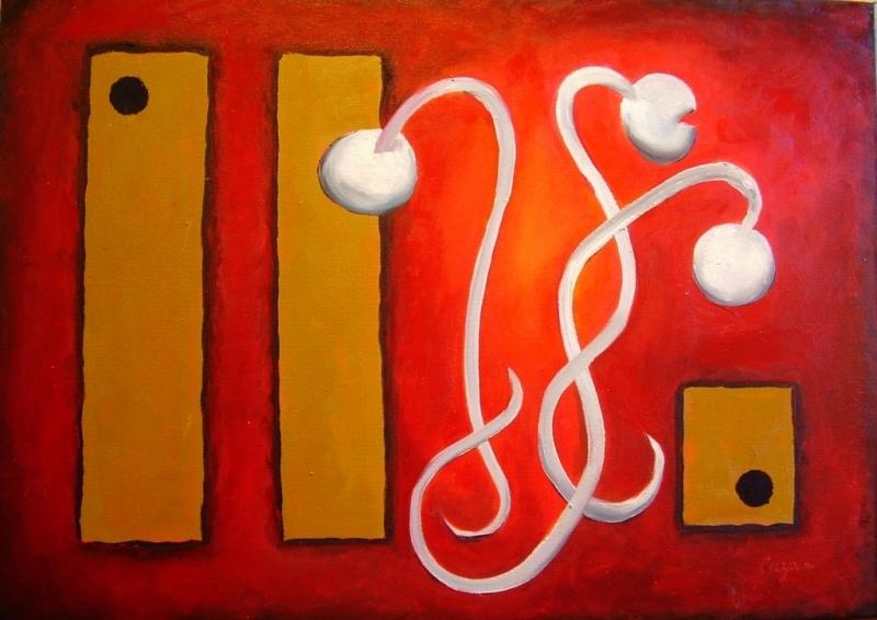 abstrakce-Velké a malý