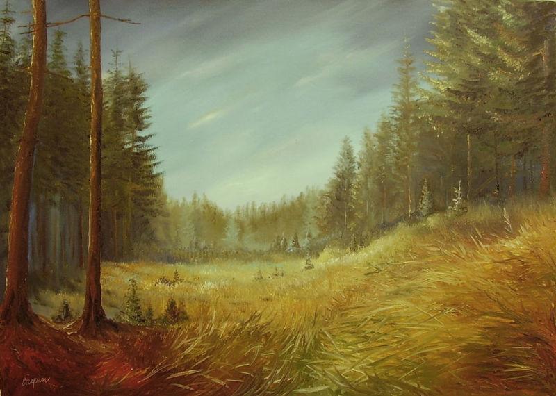 krajina-Lesní tráva II