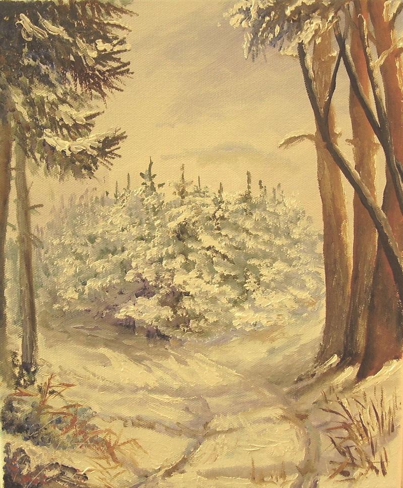 krajina-Zima