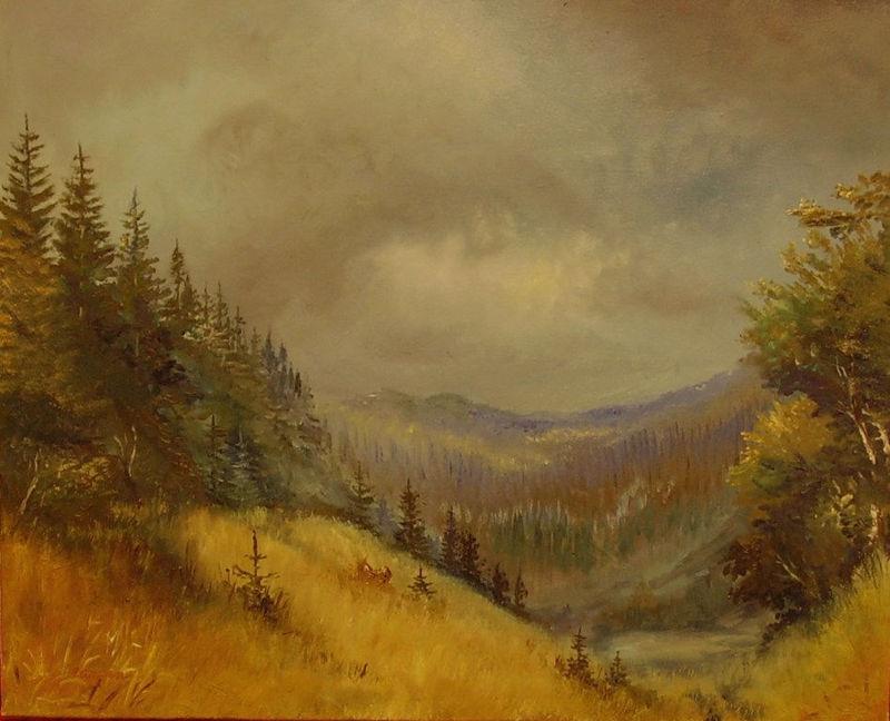 krajina-Blíží se podzim