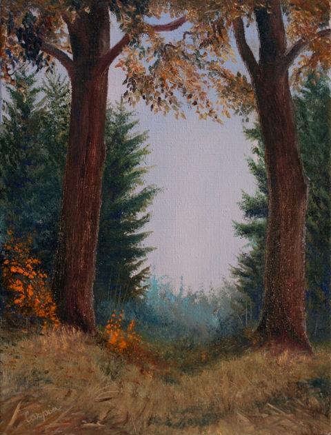 krajina-Podzim v dubině