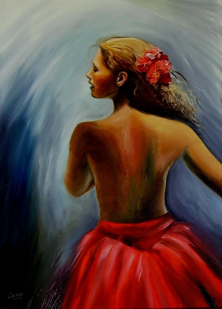 akt a figurální malba-tanecnice (3)