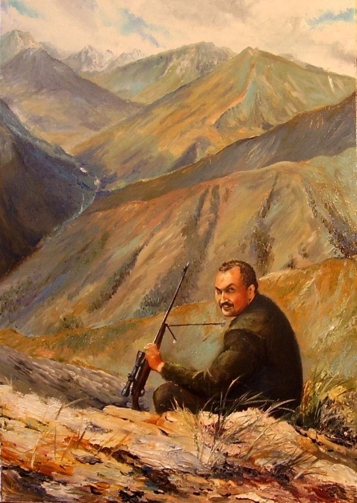 portréty myslivost-v-horach-kyrgyzstanu