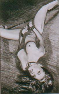 akt a figurální malba-Otrokyně